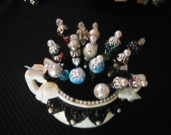 Elegant Hat Pins from Days Gone By--Awesome Gift--Handmade