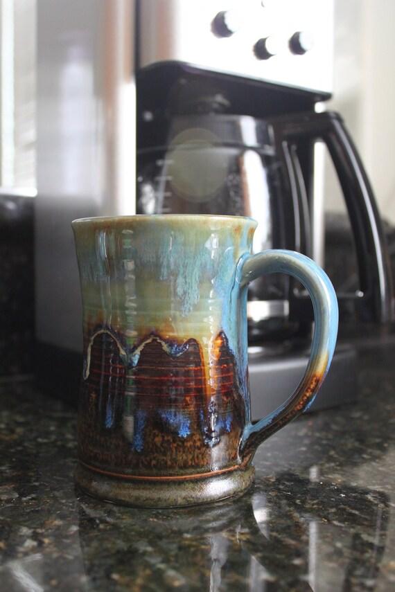 Coffee Mug - Tea Cup - Hot Chocolate Mug - Handmade Mug - Adventure