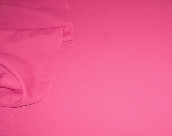 2 Yards Vintage Fabric~Lightweight Polyester in Cherry Red~Lining Fabric~Silky Polyester