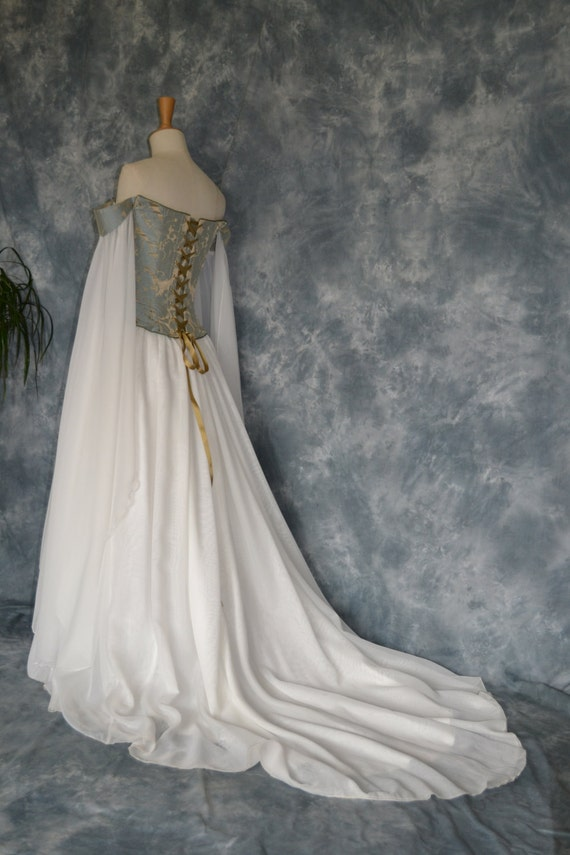 Beth a medieval elvish renaissance inspired by frockfollies for Renaissance inspired wedding dress