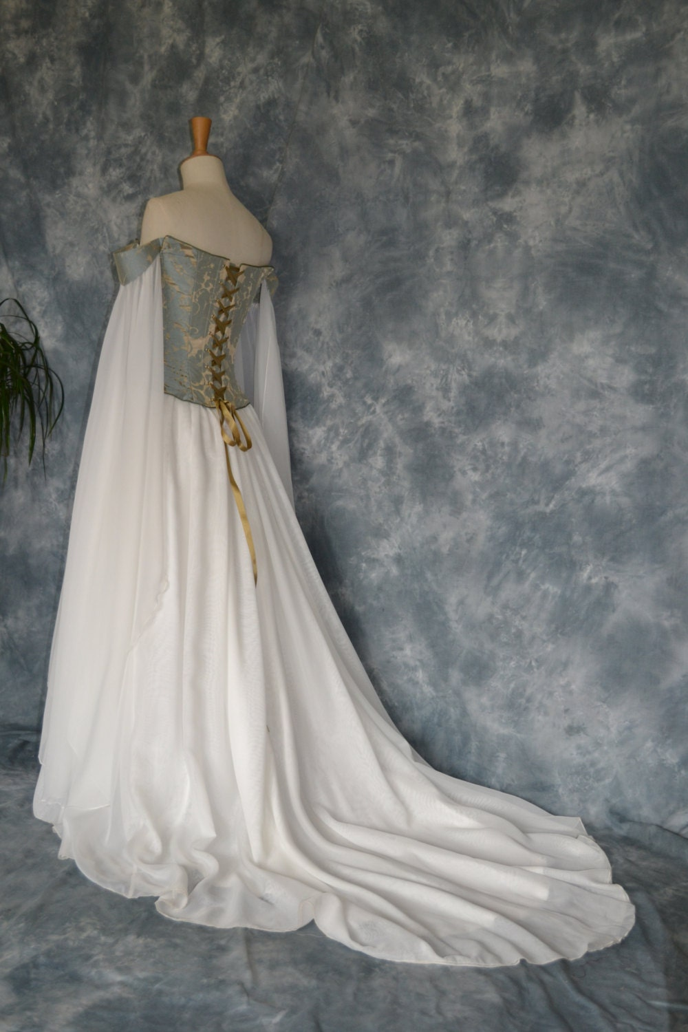 Medieval Corset Wedding Dresses 62