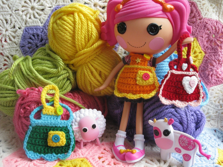 Crochet Wedding Dolls Pattern : Lalaloopsy Rag Doll Pattern - Viewing Gallery