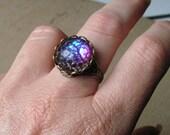 Dragon Eye Ring, Dragon Skin Ring, Vintage Ring, Bridesmaid gifts, Medieval Ring, Gothic Ring, Spring Gifts, Bridesmaid Rings, Graduation