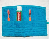 Toothbrush Travel Roll Turquoise - FREE SHIPPING