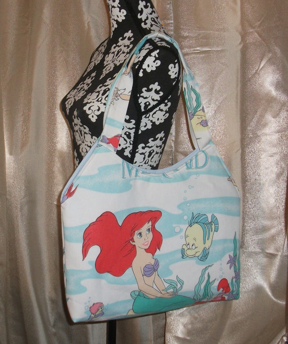 Little Mermaid- Ariel-  Vintage Disney-Purse / Tote-OOak