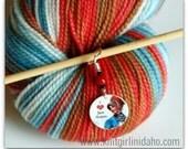 For the Love of Jane Austen Stitch Marker
