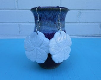 Flower Shell Earrings