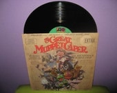 Rare Vinyl Record The Great Muppet Caper Original Soundtrack LP 1981 Childrens Jim Henson Classic