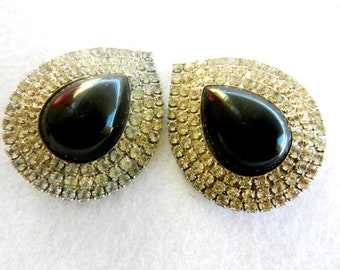Spectacular 1960s vintage Earrings   - great light for a great emotion - Elegance and style- top quality --Art.697 --