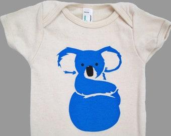Koala Organic Baby Bodysuit