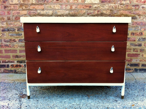 Rustic Mid Century Dresser (RESERVED for Andi)