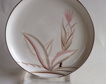 Winfield China Desert Flower Pattern Dinner Plate