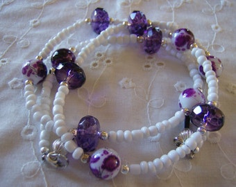 Purple Passion Eyeglass Leash Free Shipping