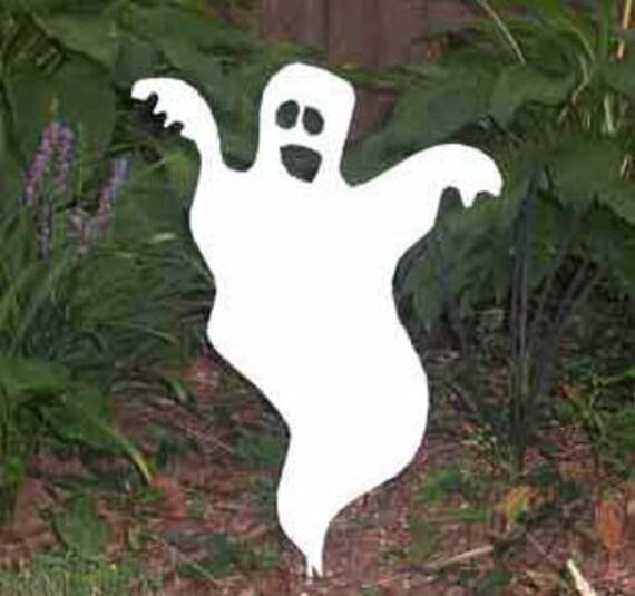 Ghost Garden Stake Scary Ghost Halloween Ghost Garden