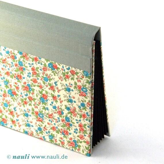 Accordion Folder - Memo Pocket small blooms