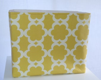 Fabric office file Organizer Storage Container 13 x 7 x 11
