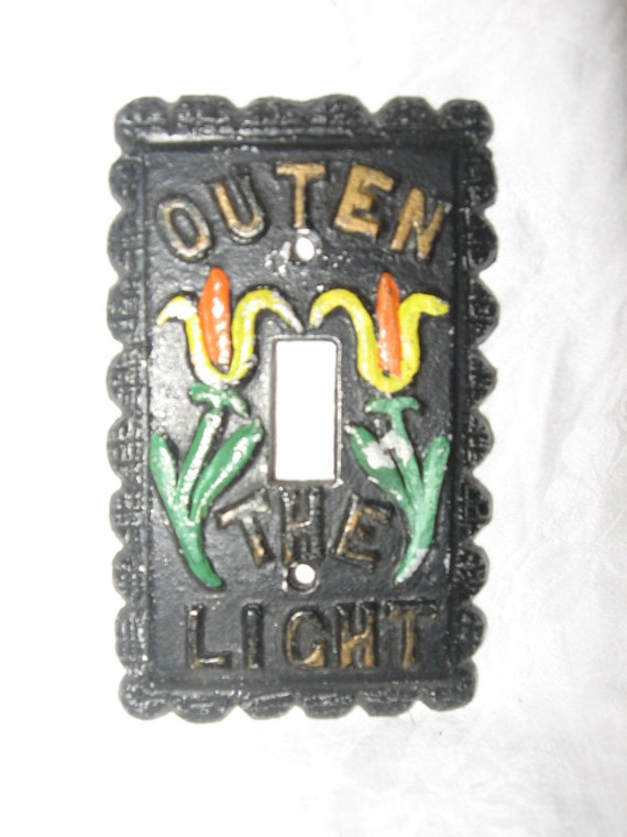 Outen The Light Light Switch Cover