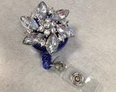 Jeweled Badge Id Clip