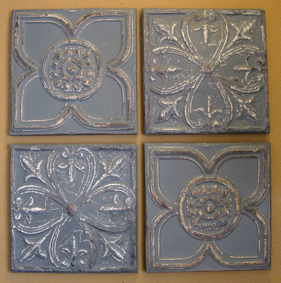 Antique ceiling tin tiles for sale
