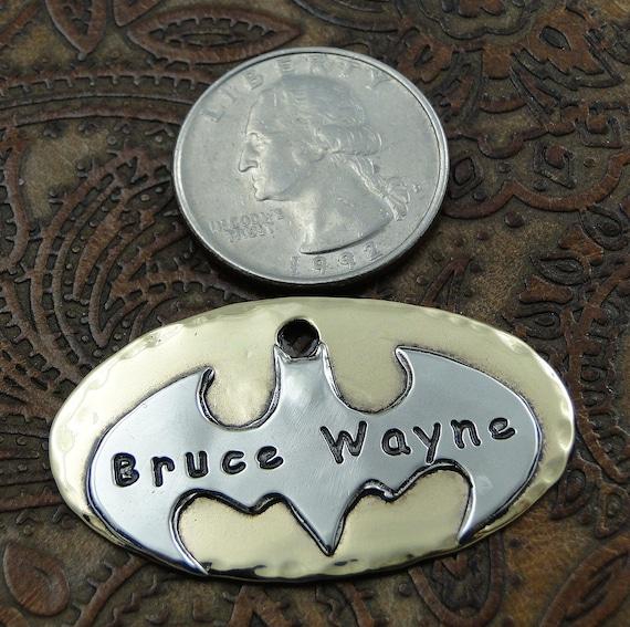Custom Dog Batman Id Tag Personalized Dog By