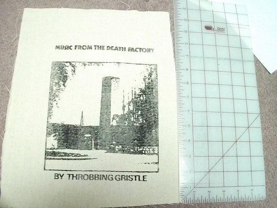 RaRe Throbbing Gristle Back Patch