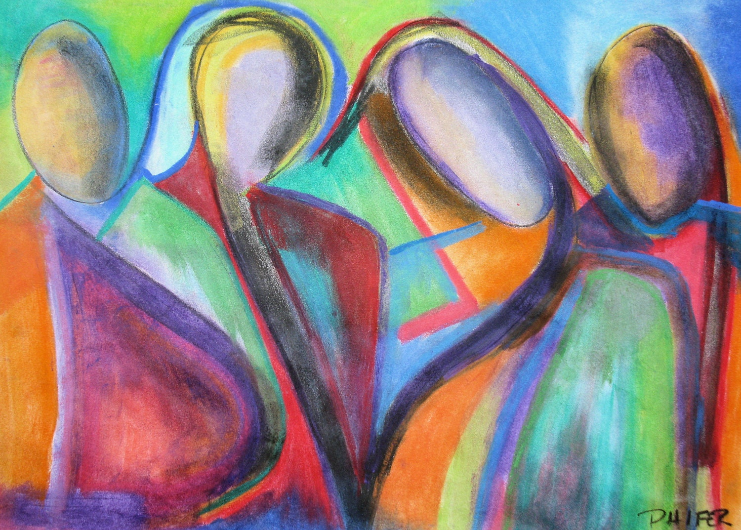 easy oil pastel drawings Quotes
