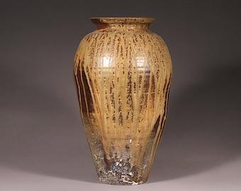 Wood fired jar.