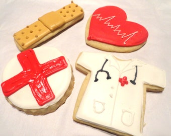 Doctor or Nurse Cookies (1 dozen)