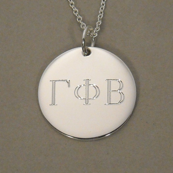 items similar to greek letter symbol necklace sorority With greek letter necklace charms