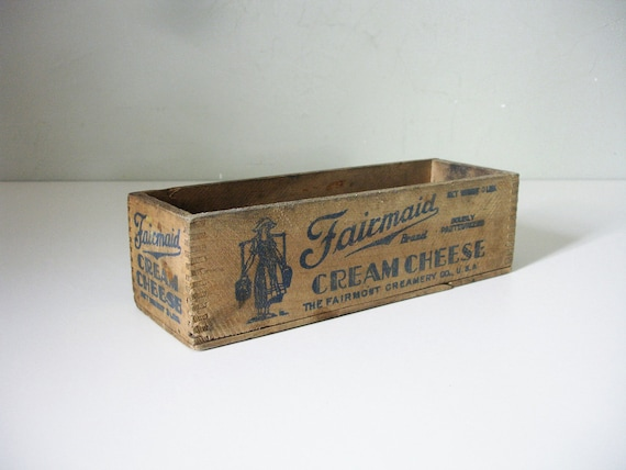 fairmaid cream cheese box