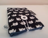 Clearance sale, half price. Fabric sleeve for ipod touch, iphone 4, iphone 4s, LGip-400N, Nokia N5 and similar sizes.