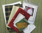 Jolly St. Nick Tea Towel Kit with Pattern
