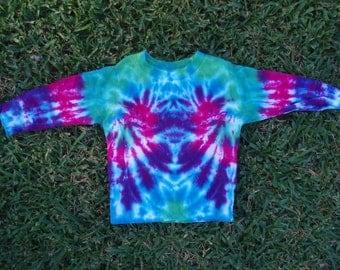 Tie Dye Toddler Long Sleeve Tshirt