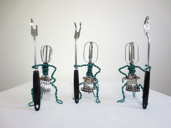 Weird Kitchen Guard, A Trio of Beater Monkeys Repurposed Odditites