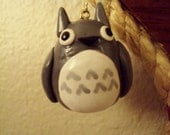 Totoro Polymer Clay Christmas Ornament