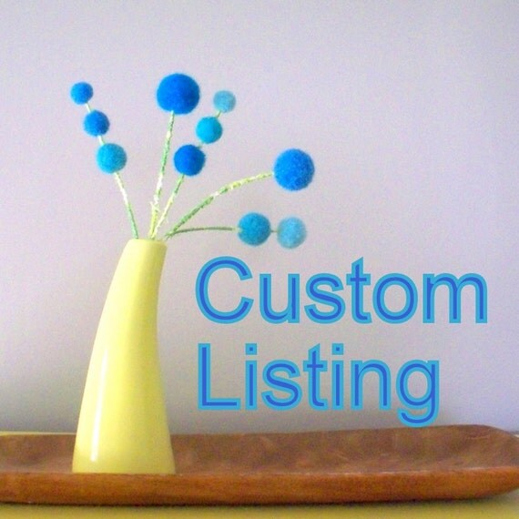 Custom listing for Nozer13