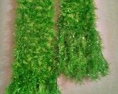 Sparkling Green Scarf