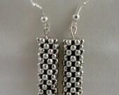 Metal Netting Earrings Jewelry
