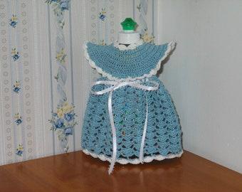 Decorative Dress Kitchen or Bathroom Decor blue and white