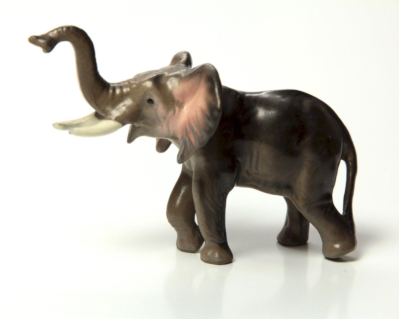 Ceramic Mama Elephant Figurine By Hagen Renaker Older