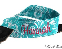 Personalized Camera Strap Embroidered DSLR Nikon, Sony, Canon Accessories Custom Photography Gift