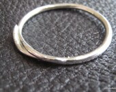 """Universal """"O"""" Ring in Fine Silver for use with Shawl Sticks"""