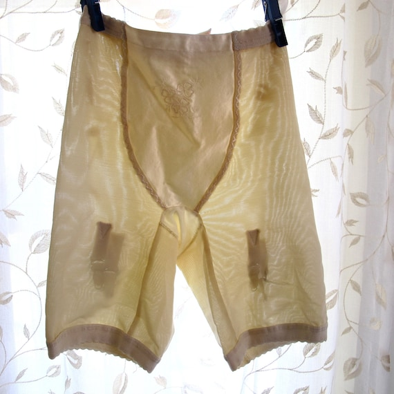 Vintage Jantzen Panty Girdle With Garters By BoudoirBarbie