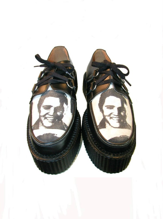 vintage rockabilly mens mondo creepers from mns us