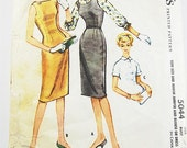 Vintage 50s Dress Pattern - McCalls 5044 - Teen Size & Junior Jumper and Blouse or Dress - SZ 15/Bust 35