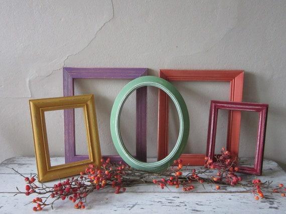 Fall Frame Set - Frame grouping - Autumn Frames  -  Home decor