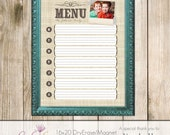 16x20 Magnet/Dry Erase Board Template - PSD - Frame