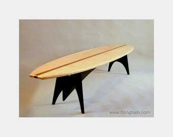 Superb Surfboard Table