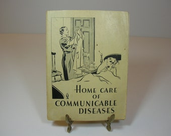 Vintage Disease Care Booklet 1936