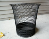 Industrial Wire Mesh Waste Basket